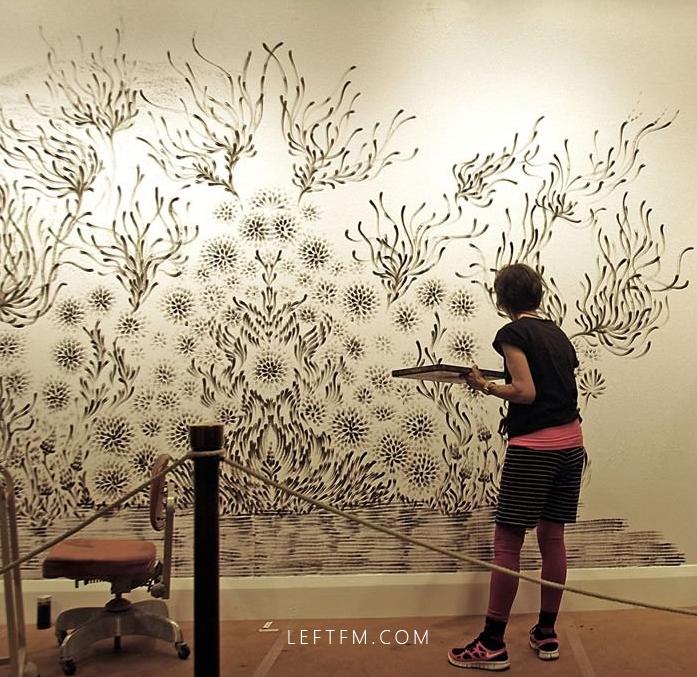 手工课:看看艺术家都是怎么玩壁的