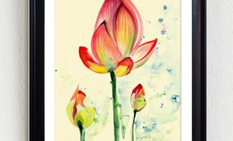 制朴印象:一朵花也值我们去珍惜