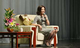 金星:家庭与事业讲座活动现场