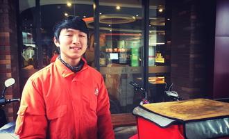 「送餐员」罗子睿:每一次年少壮行,必有怀揣梦想的滚烫