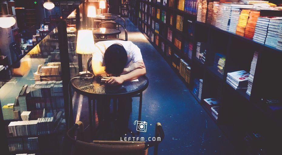 书店不死:随手拍,留下夕阳余辉