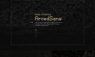 YS-ArcedSans 英文字体:免费的才是最好的么?